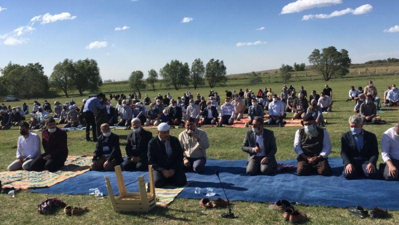 Konya'da yağmur duasına çıkıldı