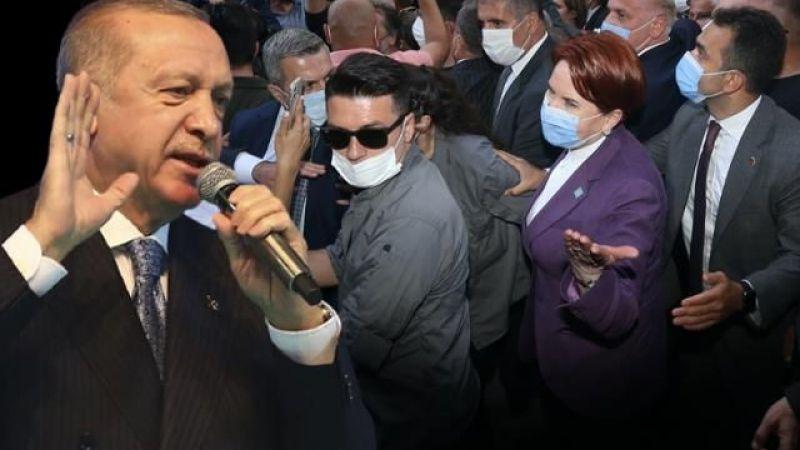 Cumhurbaşkanı Erdoğan'dan Akşener'e 'Gelin Hanım'lı cevap...