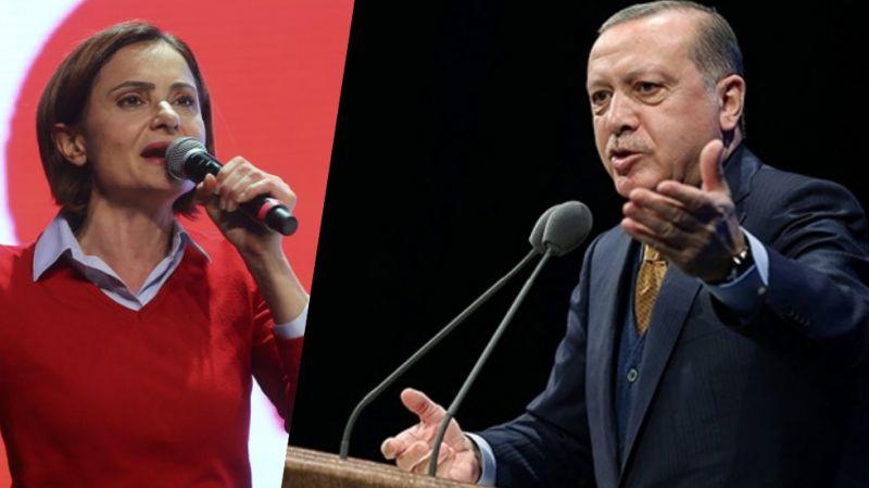 Cumhrubaşkanı Erdoğan'dan Kaftancıoğlu'na tazminat davası