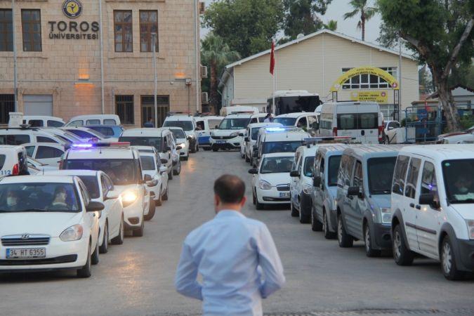 Mersin Merkezli 14 İlde Operasyon: 110 Gözaltı