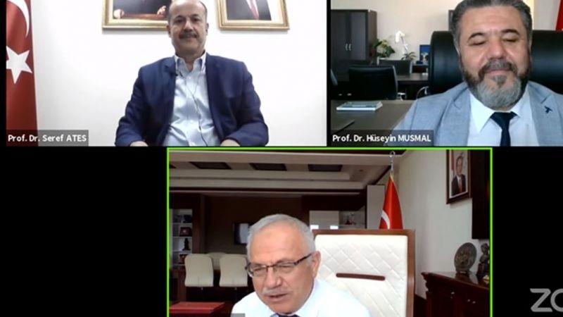 Yunus Emre Enstitüsü Başkanı Ateş, KMÜ'nün Konuğu Oldu