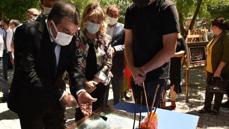 Karaman'da El Emeği Göz Nuru Ürünler Sergilendi