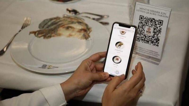 Restoranlarda QR kod uygulaması başlıyor