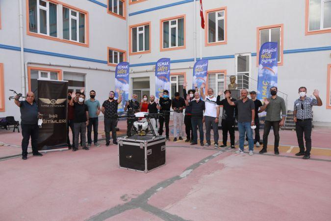 Ereğli'de insansız hava aracı eğitimi tamamlandı