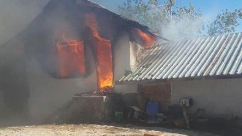 Konya'da yangın: 1 ölü