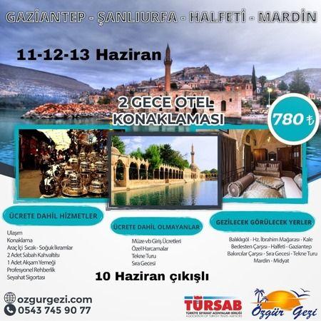 Karaman'dan Doğu Güzelliklerine Gezi Fırsatı