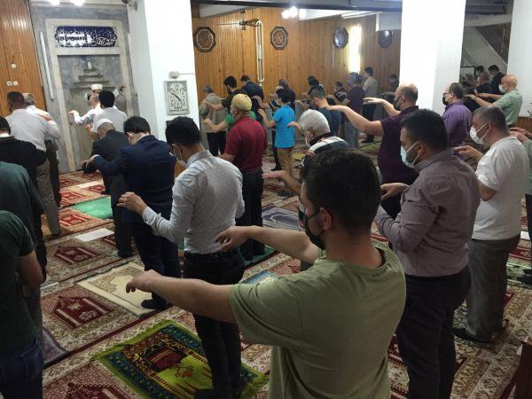 Konya'da kuraklığa karşı camilerde yağmur duası edildi