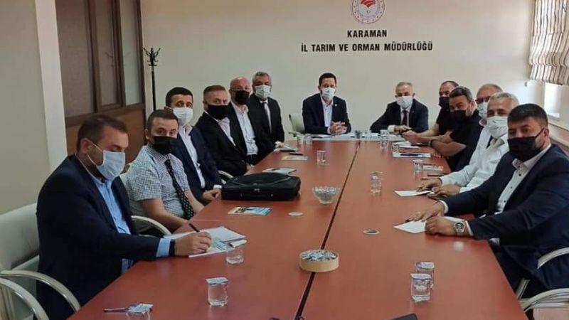 Karaman'da Tarımsal Kuraklık Masaya Yatırıldı