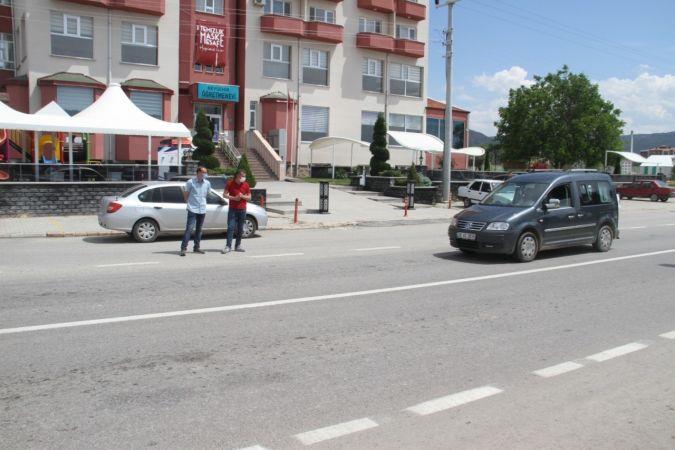 Polis sivil kıyafetli trafik denetimi yaptı