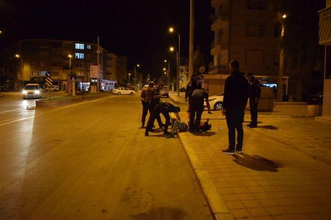 Karaman'da hareketli gece 1 kişi bıçaklandı