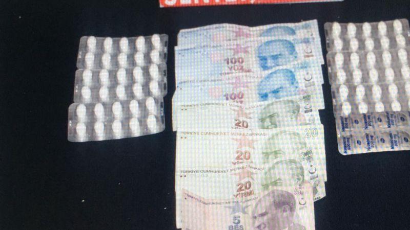 Karaman'da uyuşturucu ticaretinden 2 kişi gözaltına alındı