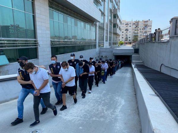 Yasadışı bahis operasyonuna 35 tutuklama