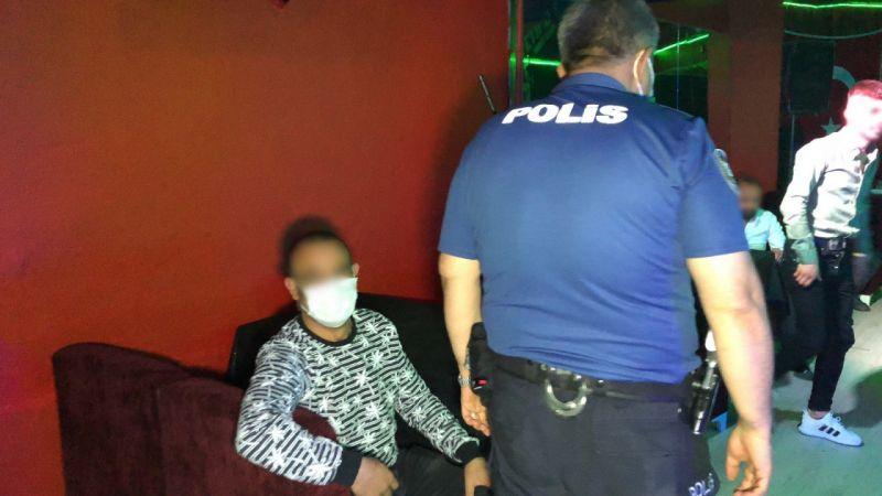 Konya'da 5. kez mühürlenen eğlence merkezindeki 27 kişiye ceza