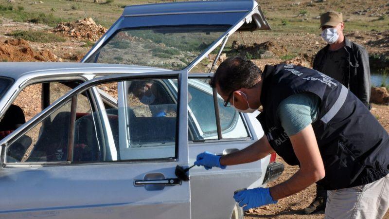 Karaman'da 'change' otomobil terk edilmiş halde bulundu