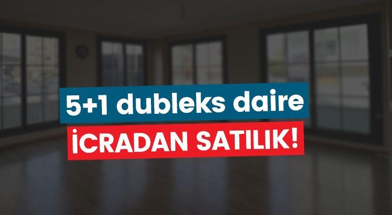 Karaman merkezde 5+1 dubleks daire icradan satılık