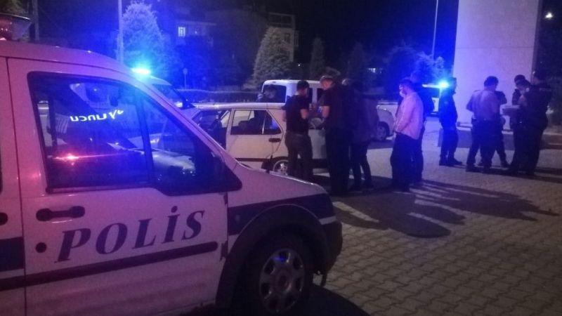 Karaman'da darp edilen şahıs hastanelik oldu