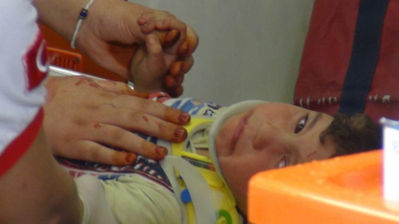 Ereğli'de hafif ticari aracın çarptığı 4 yaşındaki çocuk yaralandı