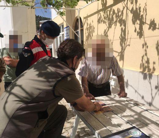Kaçak avlanan 2 kişiye 33 bin lira ceza kesildi