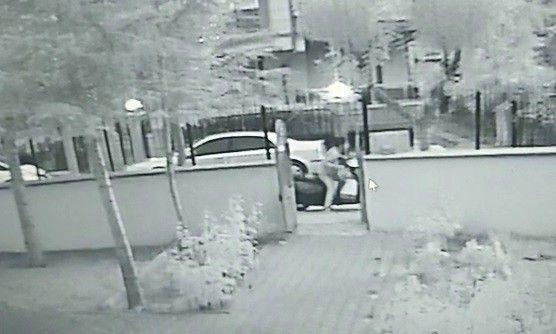 Titiz Hırsız Kameralara Böyle Yakalandı!