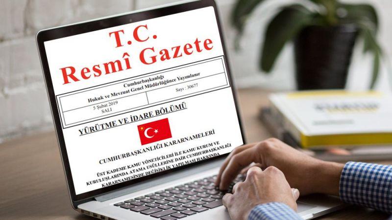 Cumhurbaşkanlığı Atama Kararları Resmi Gazete yayımlandı