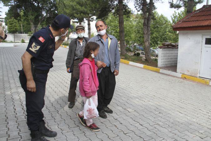 Kaybolan 11 yaşındaki kız çocuğu ailesinin kaldığı çadıra döndü