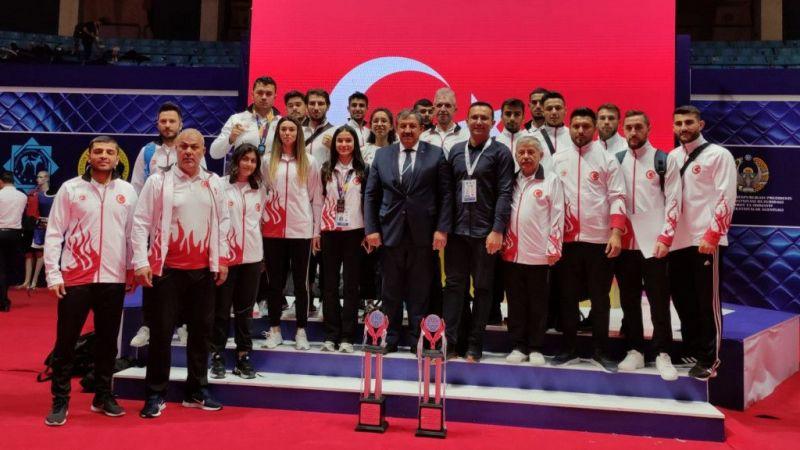 Millilerden Uluslararası Özbekistan Açık Kick Boks Turnuvası'nda 11 madalya