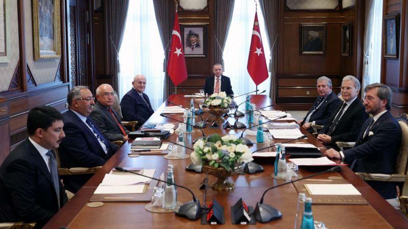 Cumhurbaşkanı Erdoğan'dan 'Anayasa' vurgusu