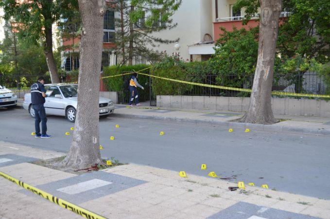 Aksaray'da karısını tabancayla öldüren kişi, polisle girdiği çatışmada hayatını kaybetti