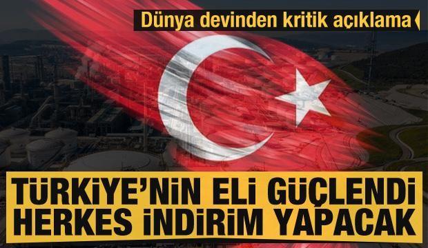 Dünya petrol devi açıkladı: Türkiye'nin eli güçlendi herkes indirim yapacak