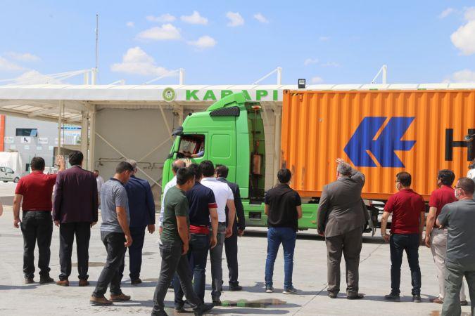 Konya'nın Karapınar ilçesinden Çin'e 250 ton süt tozu ihracatı