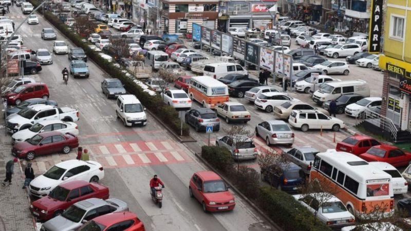 Karaman trafiğine bir ayda 101 yeni araç eklendi