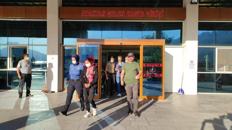 Konya'da uyuşturucu operasyonunda yakalanan 4 şüpheli tutuklandı