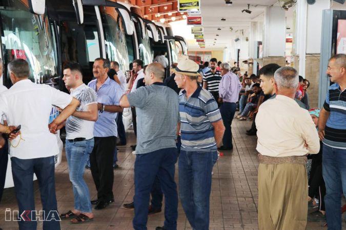 Otobüs ve uçak seferlerinde yoğunluk başladı