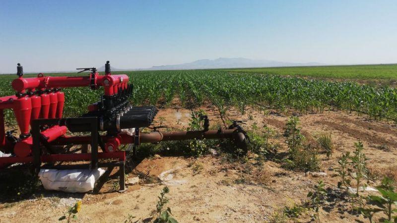 Karaman'da üreticilerin su sorunu çözüldü