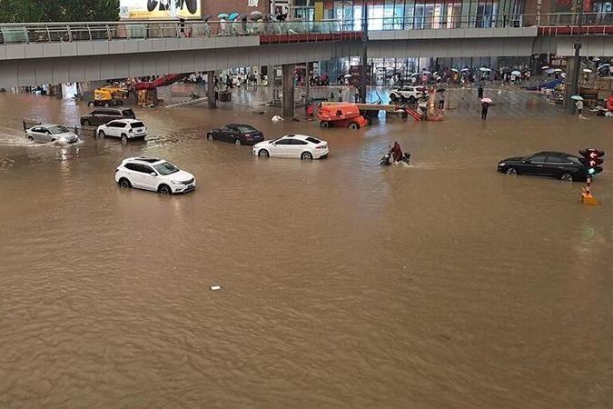 Çin'deki sel felaketinde can kaybı 33'e yükseldi!