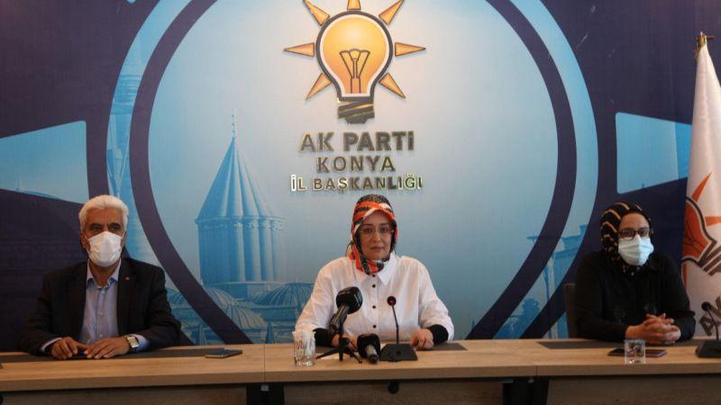 AK Parti Konya Milletvekili Gülay Samancı, gündemi değerlendirdi: