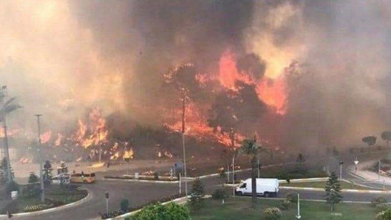 AFAD: Manavgat'taki yangında 30 kişi etkilendi