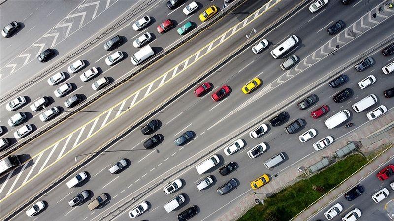 6 ayda 607 bin 289 aracın kaydı yapıldı
