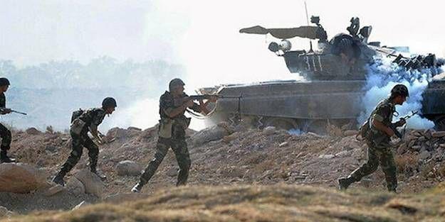 Ermenistan'dan Azerbaycan mevzilerine saldırı!
