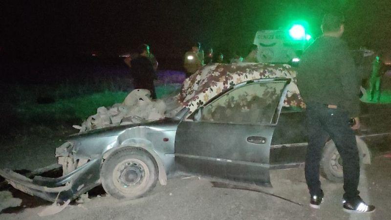 Karapınar'da traktöre çarpan otomobilin sürücüsü öldü