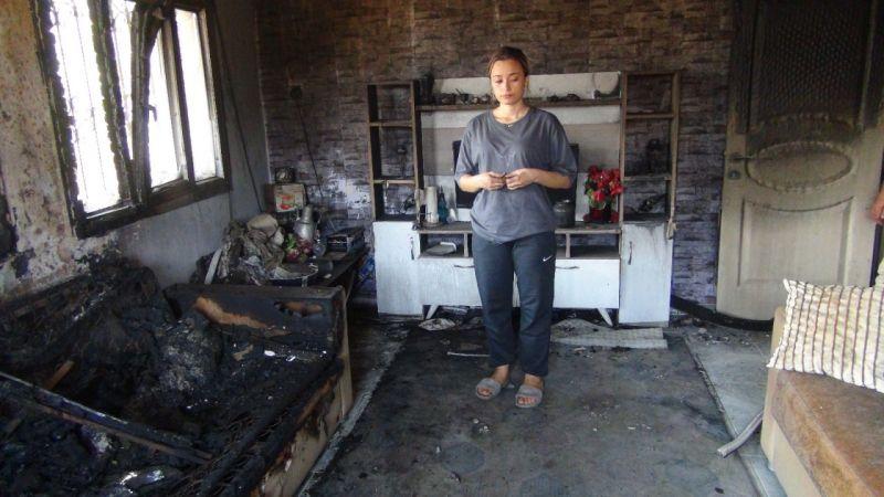 Düğün hazırlığı yapan Fatma'nın çeyizi yangında kül oldu
