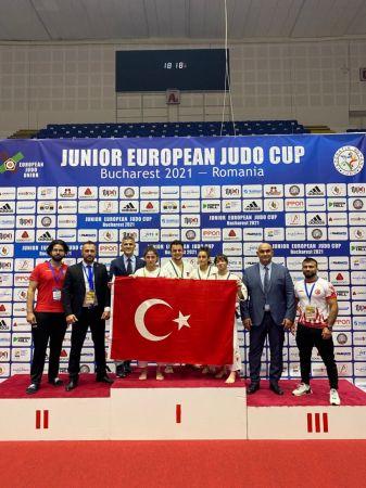 Milli judocular, Gençler Avrupa Judo Kupası'nı 9 madalya ile tamamladı