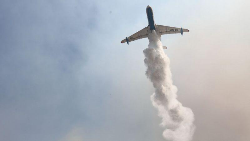 Antalya ve Muğla'da orman yangınlarına 13 uçakla müdahale ediliyor