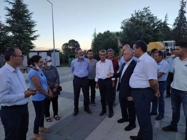 AK Parti Karaman Milletvekili Şeker'den ilçe ziyaretleri