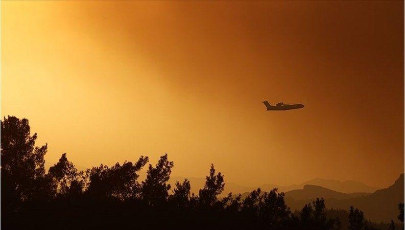 Hırvatistan'dan yangın söndürme uçağı desteği