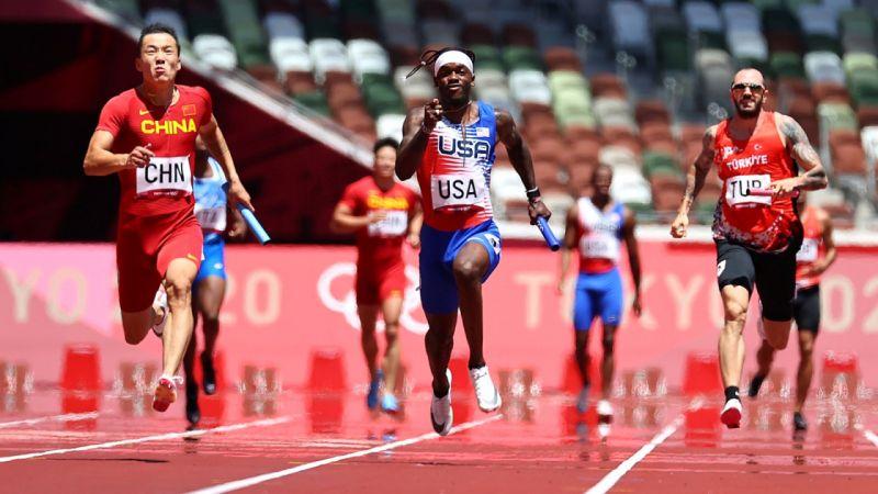 Türk Milli Takımı, erkekler 4x100 metre yarışında elendi