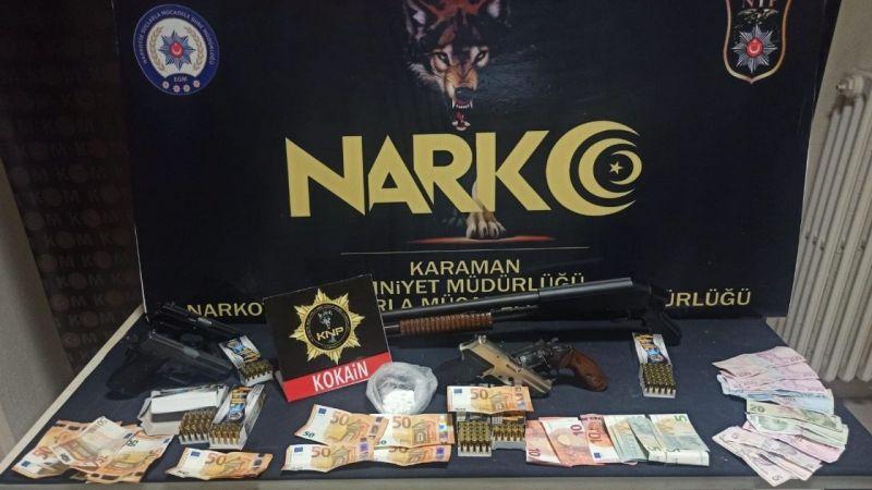 Karaman'da kokain ile yakalanan 2 kişinin akıbeti belli oldu