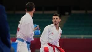 Milli karateci Eray Şamdan, Tokyo'da yarı finale yükseldi