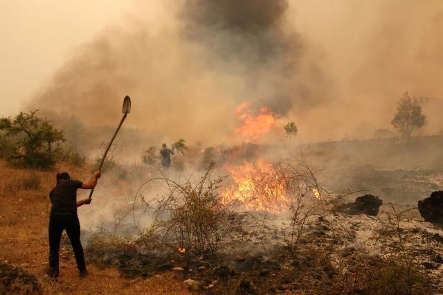 Yangın bölgelerinde vergi ödeme süreleri ertelendi!