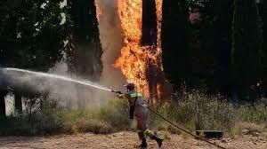 Yunanistan'da 'Aşırı yangın uyarısı' yapıldı
